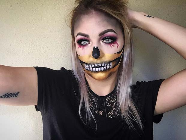 23 Skeleton Makeup Ideas for Halloween   Page 2 of 2 ...