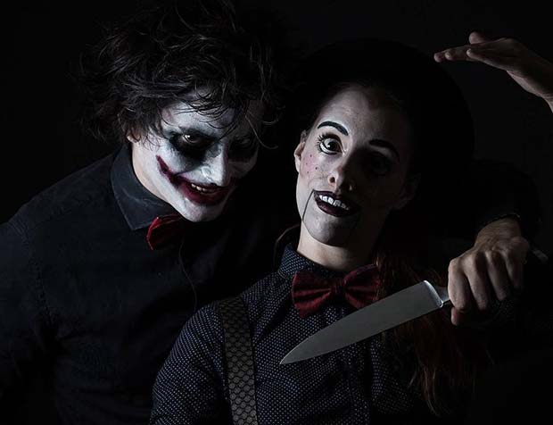 Scary Halloween Costumes Ideas For Adults.Scary Halloween Costume Ideas For Couples Stayglam
