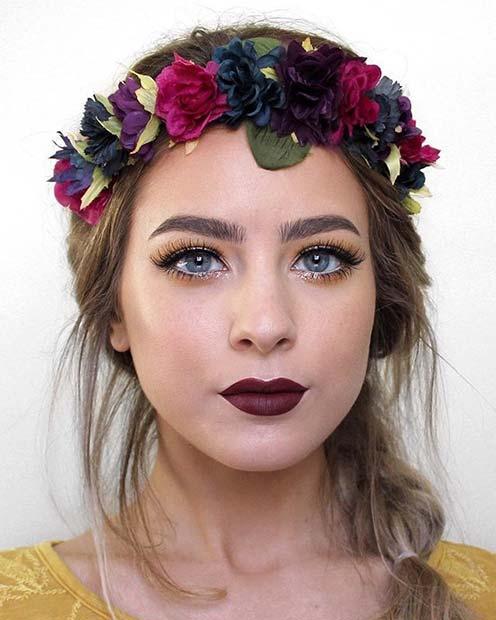 Autumnal Makeup Look for Fall Makeup Looks