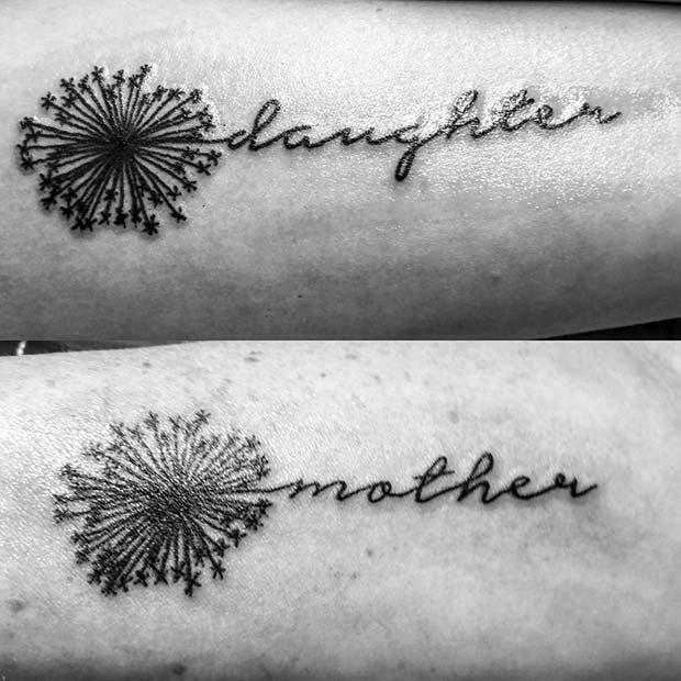 Mother Daughter Tattoos for Popular Mother Daughter Tattoos