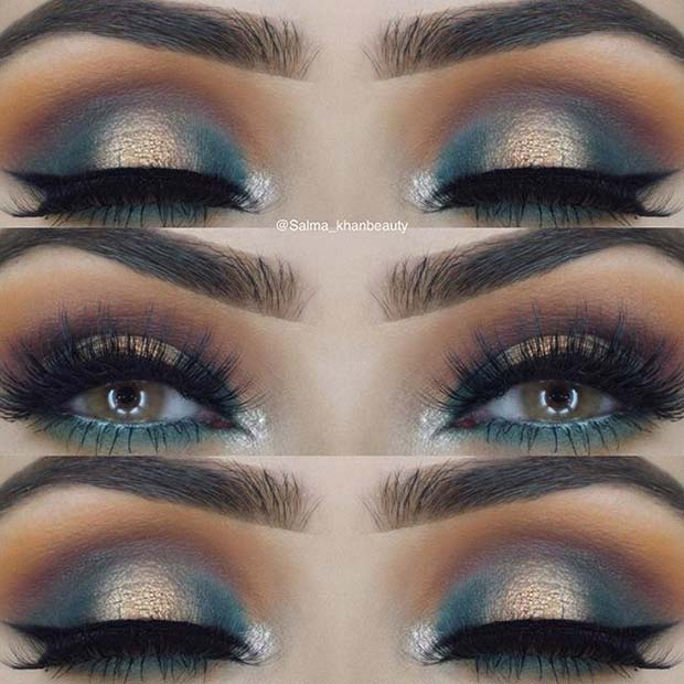 Bold Earthy Tones for Fall Makeup Looks