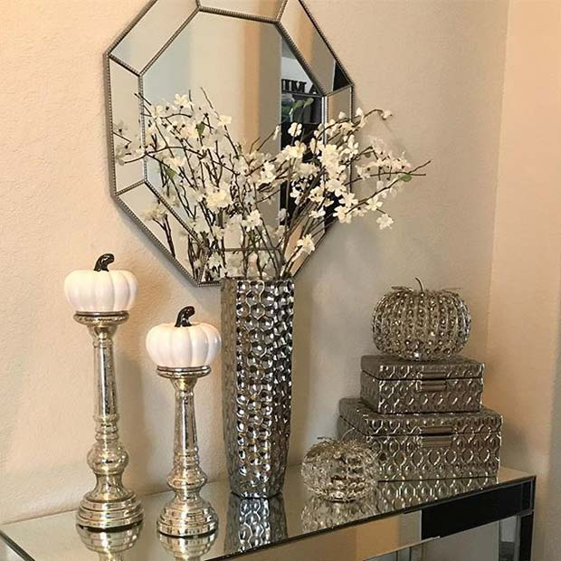 Glam Fall Decor for Fall Home Decor Ideas