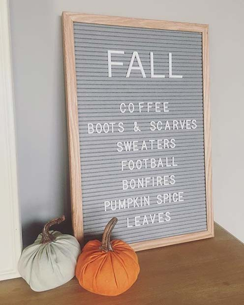 All Things Fall for Fall Home Decor Ideas