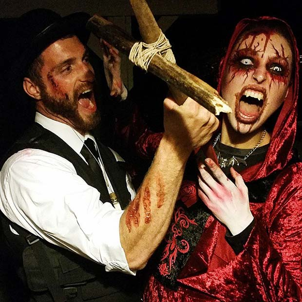 vampire couples costume for scary halloween costume ideas for couples