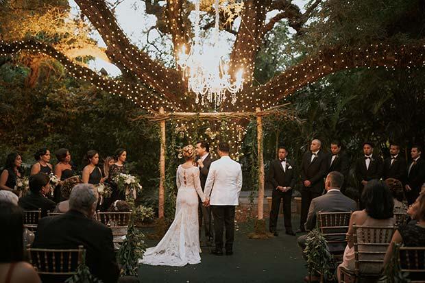 Glam Rustic Outdoor Wedding for Rustic Wedding Ideas