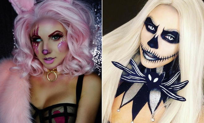 Unique Halloween Makeup Ideas.25 Unique Halloween Makeup Ideas To Try Stayglam