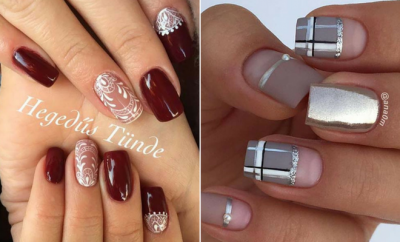 43 nail design ideas perfect for winter 2019  stayglam