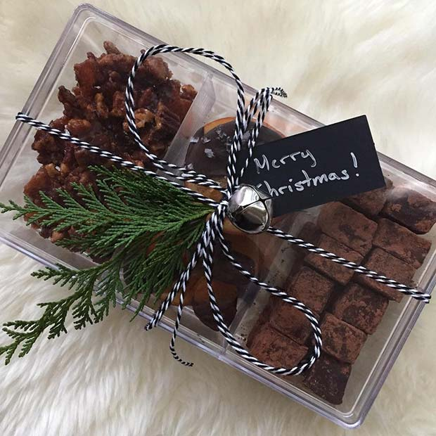 Christmas Chocolates for DIY Christmas Gift Ideas