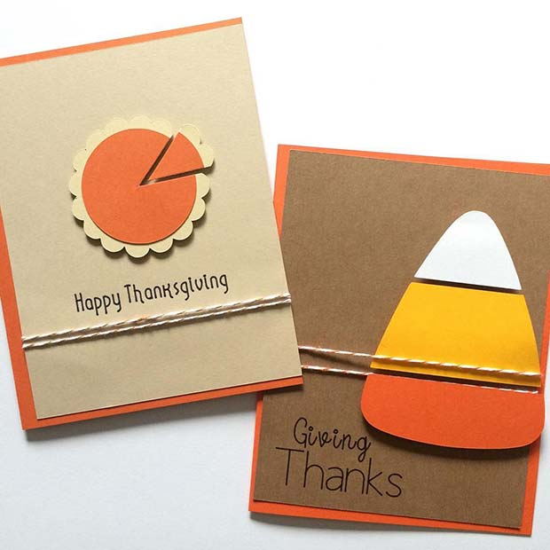 Thanksgiving Cards for Thanksgiving Crafts
