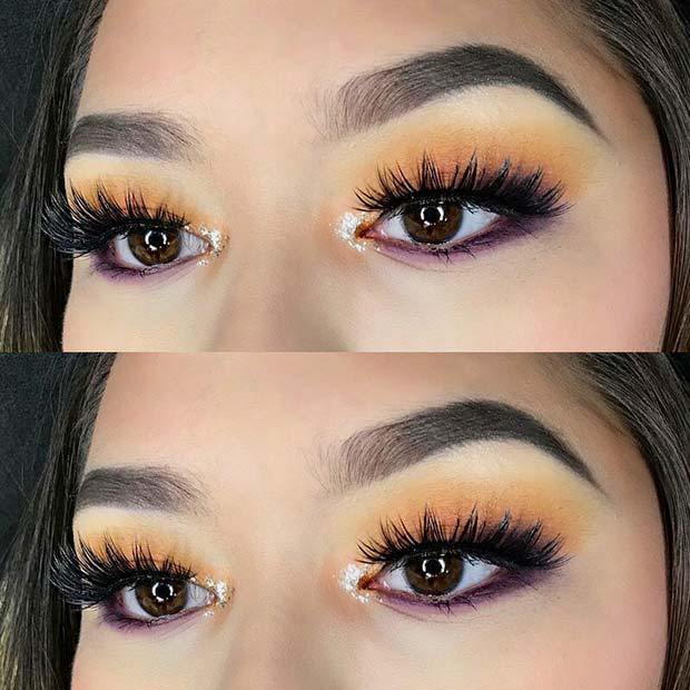 Bold and Stylish Eyes for Makeup Ideas for Thanksgiving Dinne