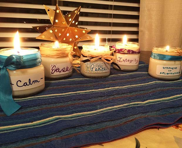 Candle Gift for DIY Christmas Gift Ideas