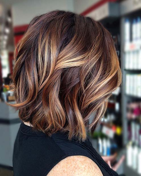23 Stylish Lob Hairstyles For Fall And Winter Page 2 Of