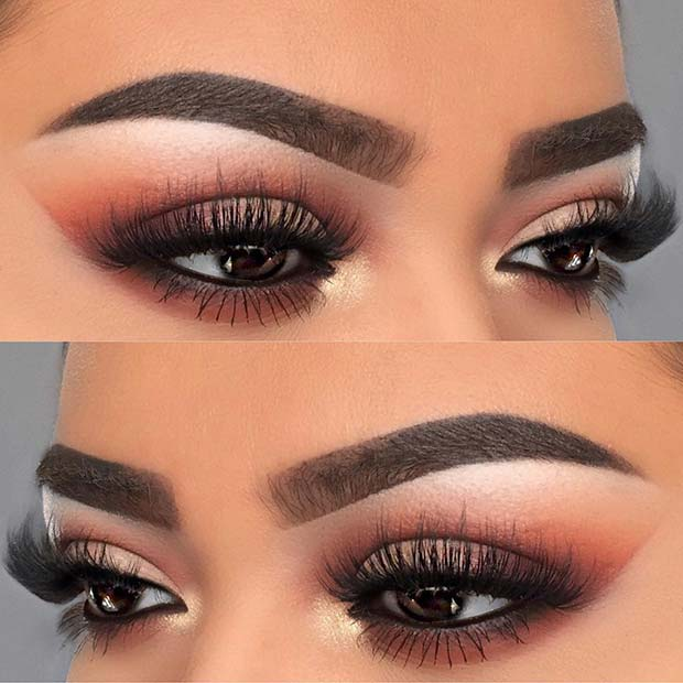 Brown Smokey Eye Makeup for Makeup Ideas for Thanksgiving Dinner