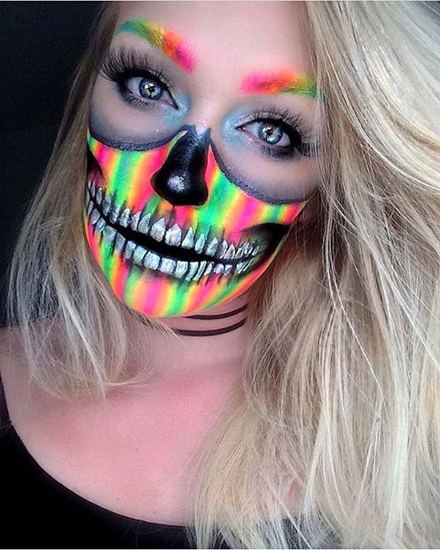 25 Unique Halloween Makeup Ideas To Try