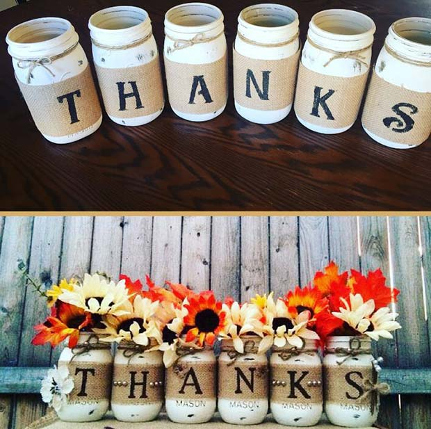 Thanksgiving Vases for Thanksgiving Crafts