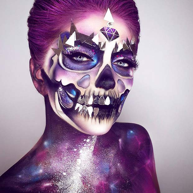 Unique Universe Inspired Makeup for Mind-Blowing Halloween Makeup Looks