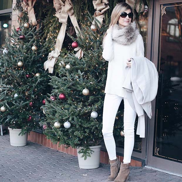 Winter White for Cute Outfits to Copy This Winter