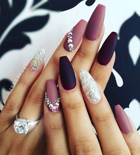 Nail Art: 43 Nail Design Ideas Perfect For Winter 2019