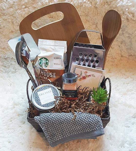 Kitchen Gift Hamper for DIY Christmas Gift Ideas