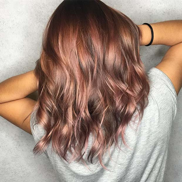 Pastel Hair for Lob Hairstyles for Fall and Winter