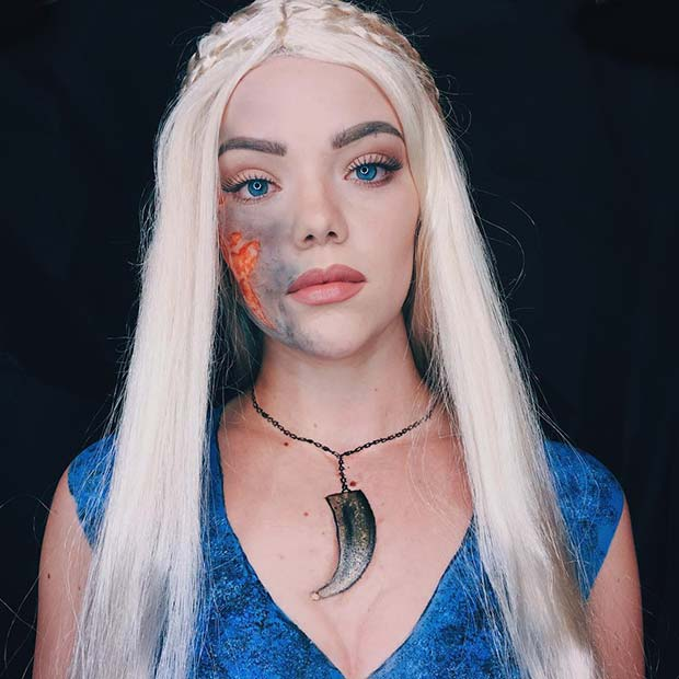 Daenerys Targaryen for Unique Halloween Makeup Ideas to Try