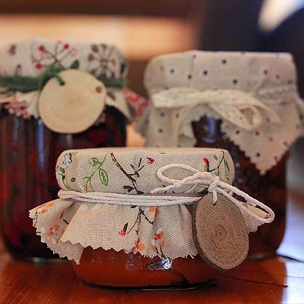 Homemade Jam for DIY Christmas Gift Ideas
