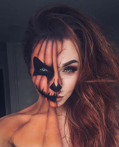 25 Mind-Blowing Halloween Makeup Looks | StayGlam