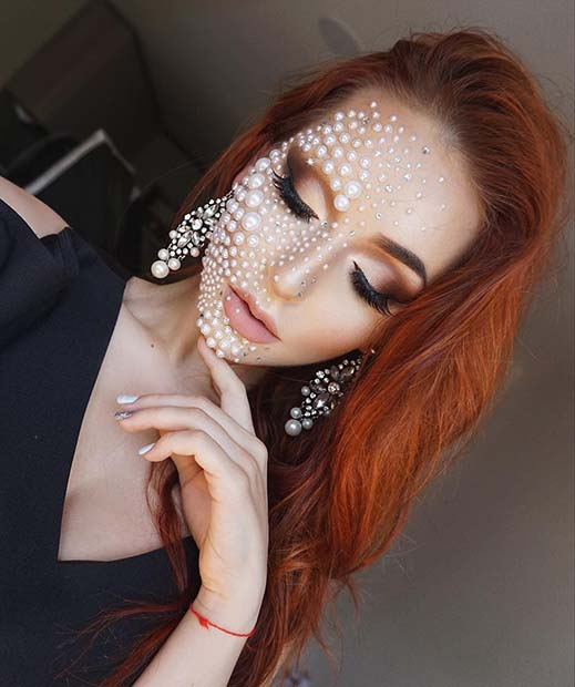 Pretty Pearl Makeup for Best Halloween Makeup Ideas