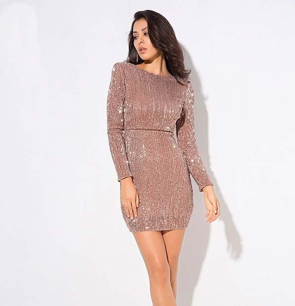 Chic Sequin Dress