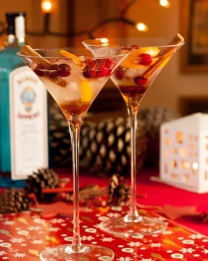 Christmas Gin Martini