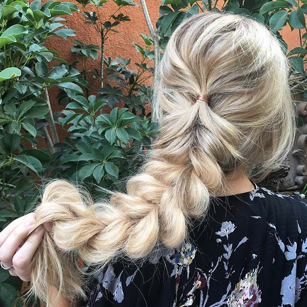 Cute Fluffy Braid
