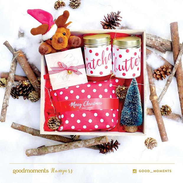 Festive DIY Gift Basket