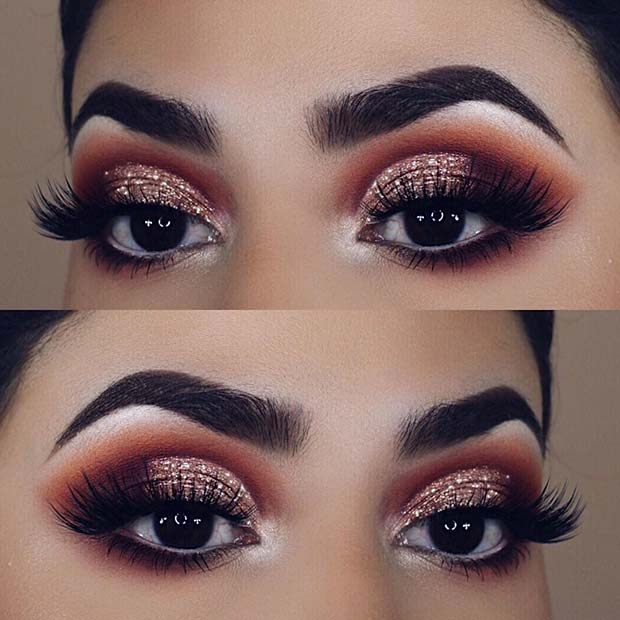 23 glam makeup ideas for christmas crazyforus