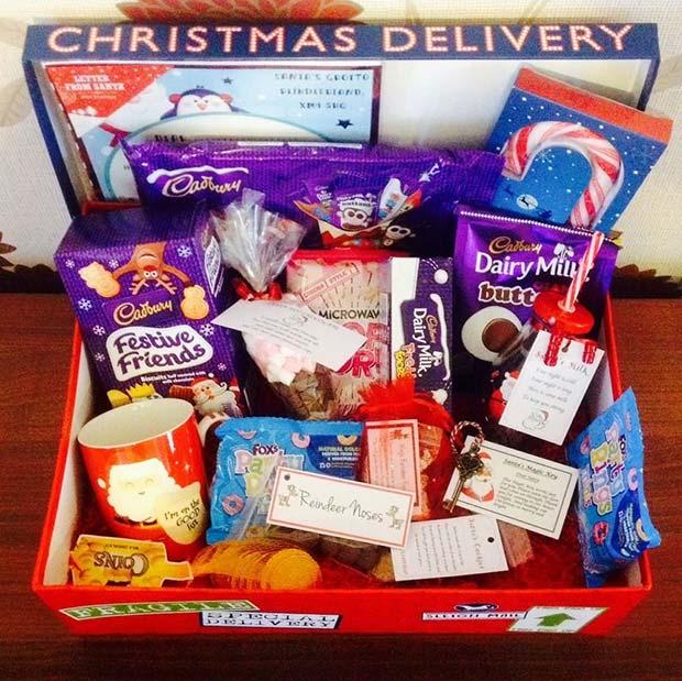 Festive Treats Gift Basket