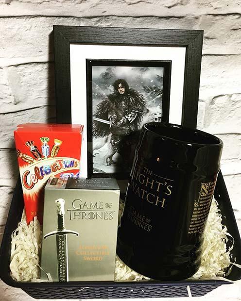 DIY Game of Thrones Gift Basket