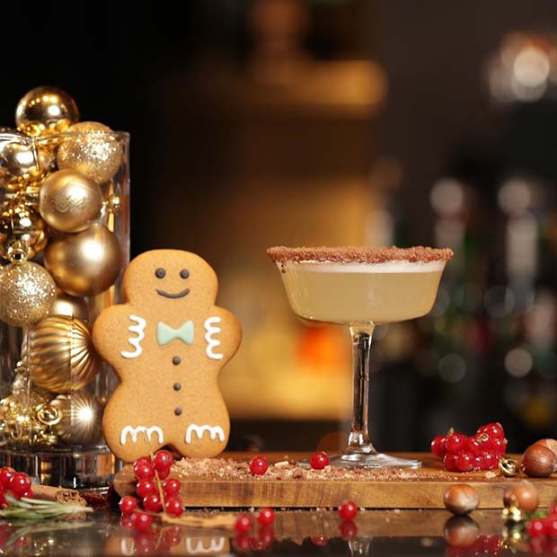 Gingerbread Christmas Cocktail