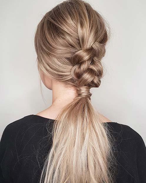 Half Braid Style