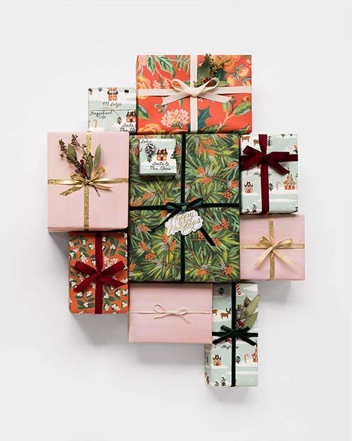 Multi Paper Wrapping Idea