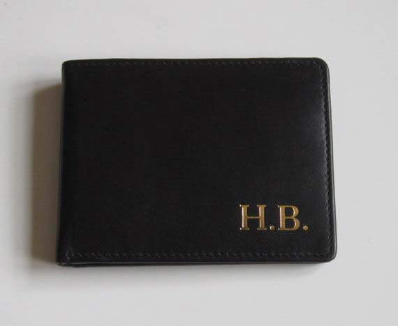 Personalized Wallet Gift Idea