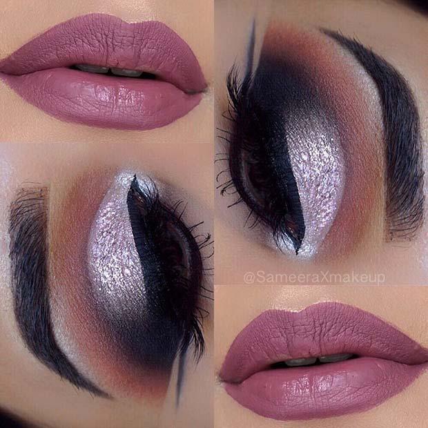 Pretty Pink Smokey Eye Look