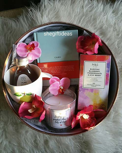 Pretty Gift Basket for Her