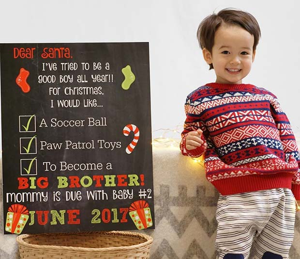 41 Christmas Pregnancy Announcement Ideas Page 2 Of 4 Stayglam