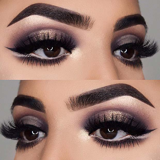 23 Glam Makeup Ideas For Christmas 2017