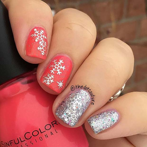 23 Latest Winter Inspired Nail Art Ideas Stayglam