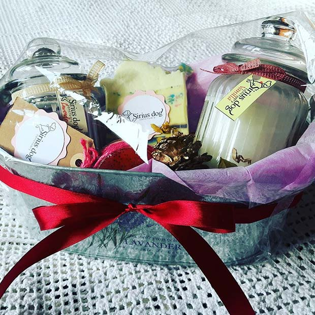 Soap and Candles Gift Set