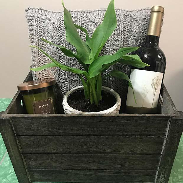 Stylish Gift Basket Idea
