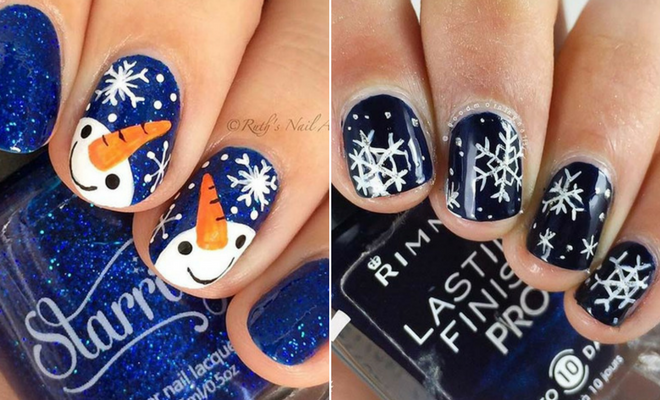 Instagram - 23 Latest Winter Inspired Nail Art Ideas StayGlam