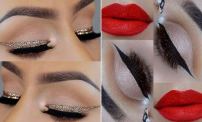 Glam Makeup Ideas for Christmas