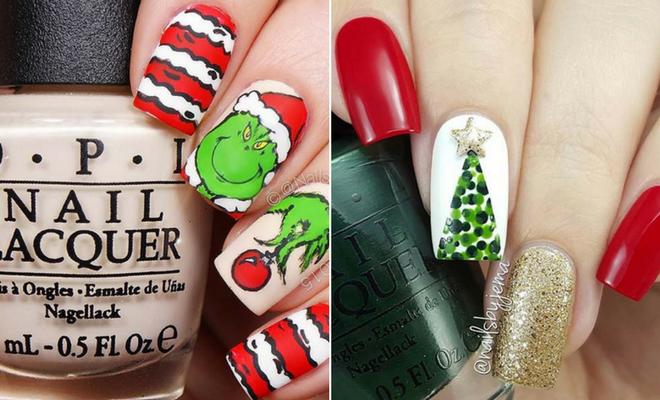 29 festive christmas nail art ideas page 2 of 2 stayglam 29 festive christmas nail art ideas