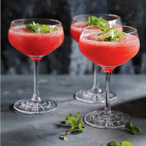Watermelon and Mint Cocktail